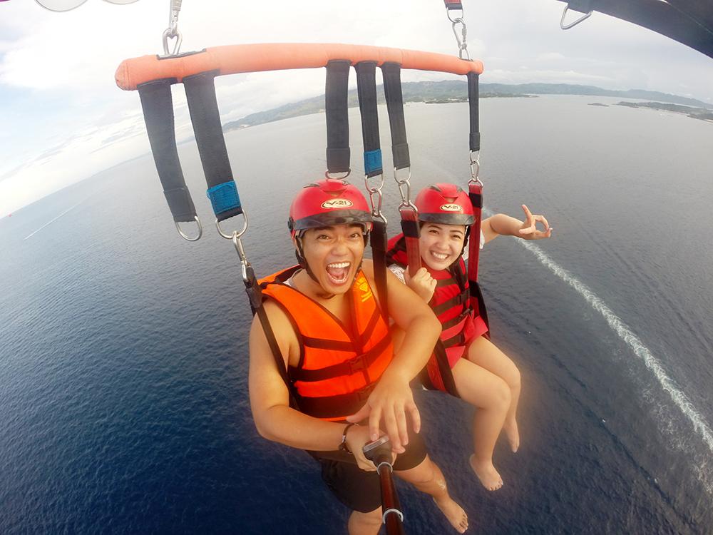 Parasailing - Boracay, Philippines
