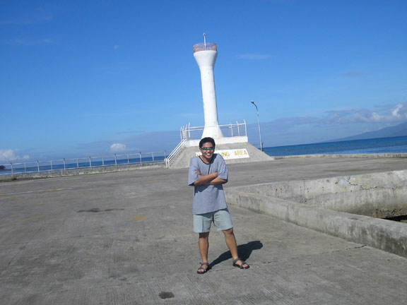 Balingoan port lighthouse to Camiguin Island